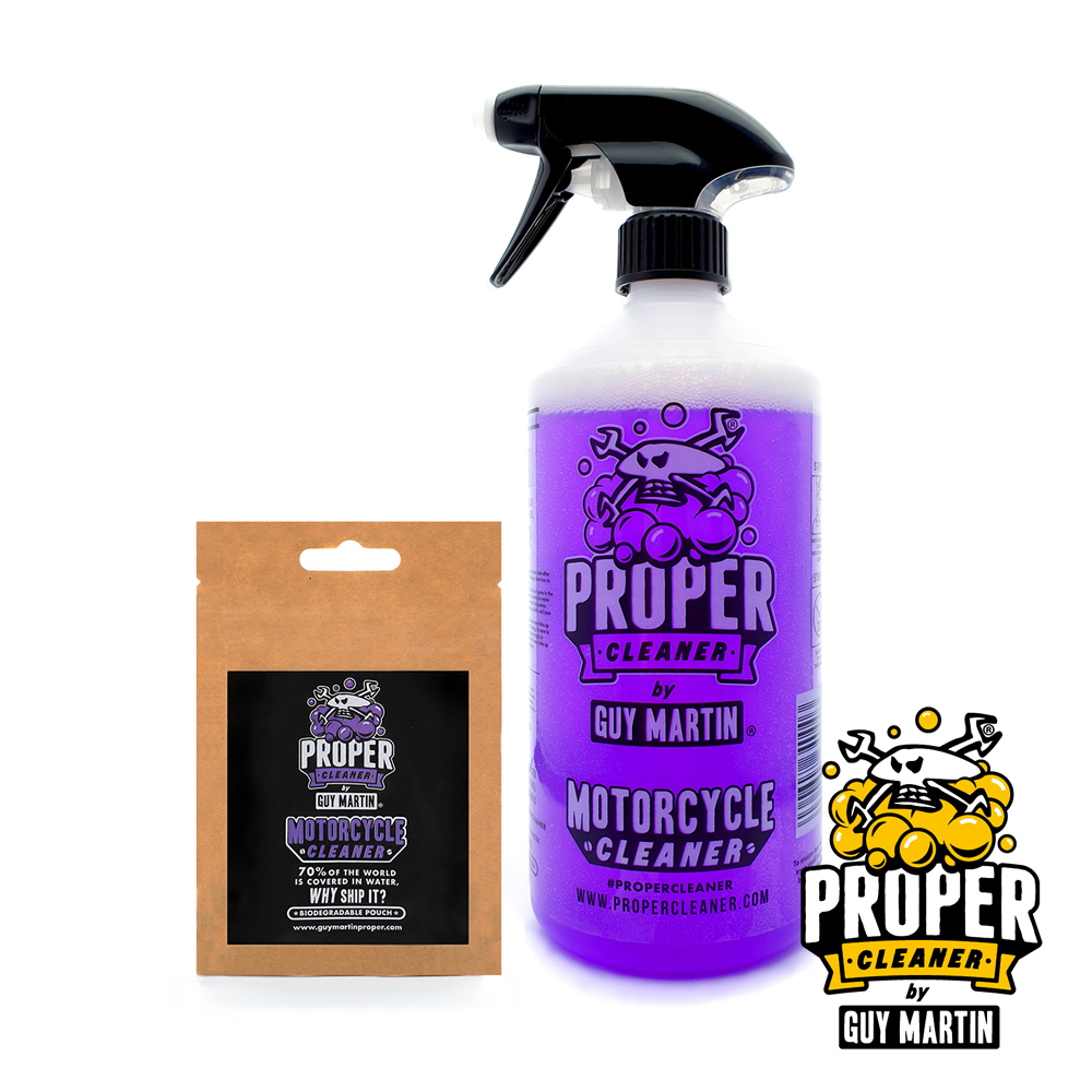 Guy Martin Proper Motorcycle Cleaner
