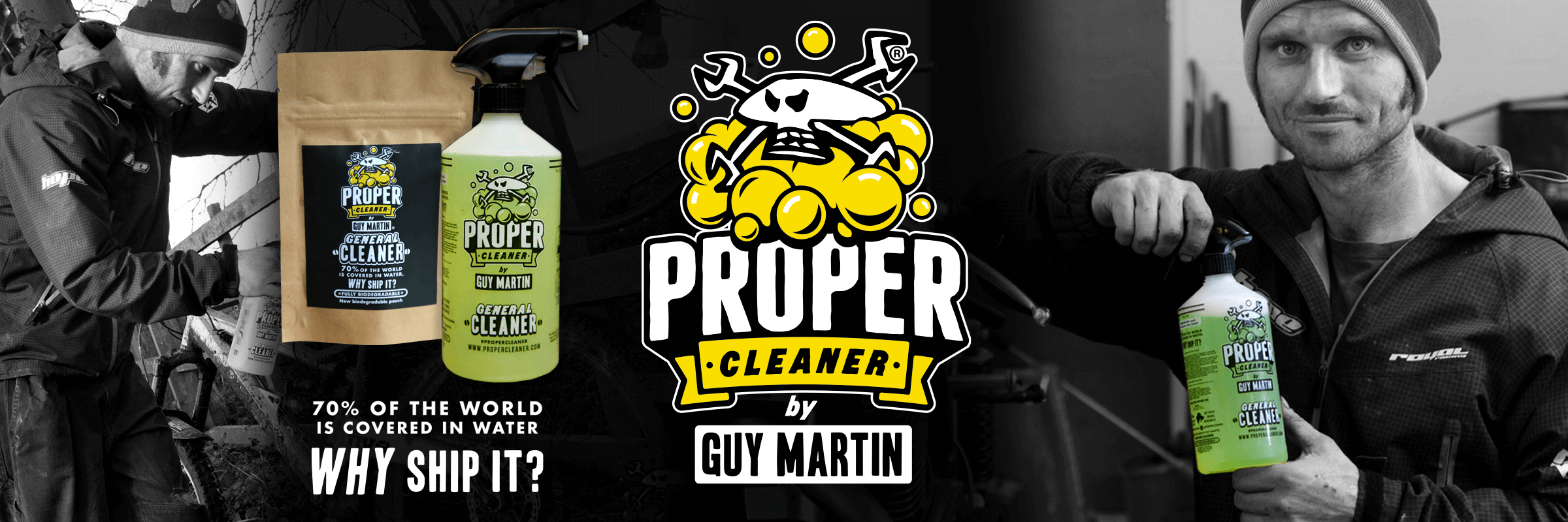 Proper Cleaner by Guy Martin